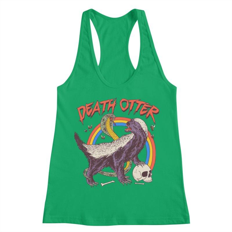 Death Otter Women's Racerback Tank by Hillary White