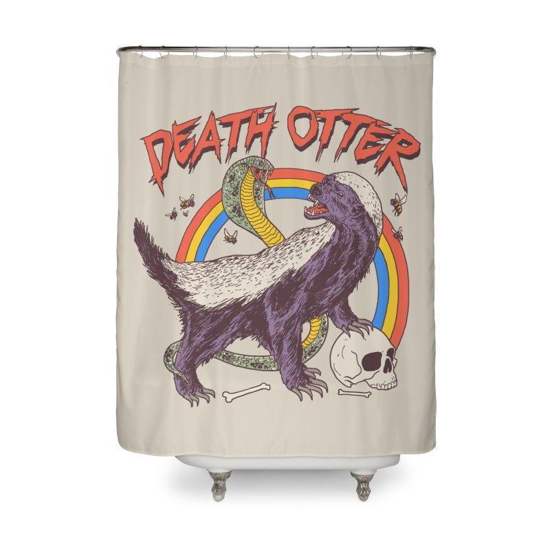 Death Otter Home Shower Curtain by Hillary White