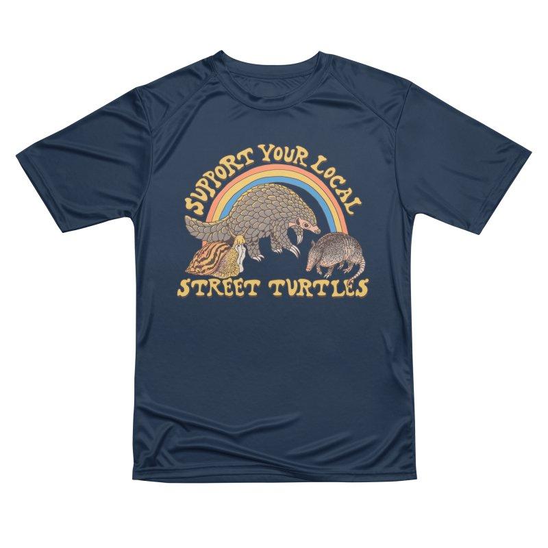 Street Turtles Men's Performance T-Shirt by Hillary White