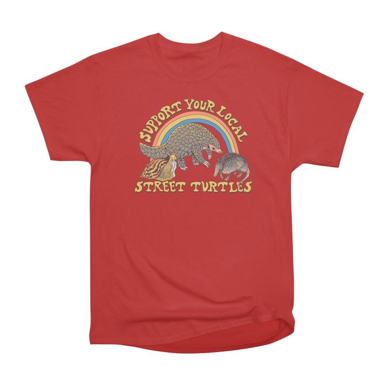Street Turtles Men's Heavyweight T-Shirt by Hillary White