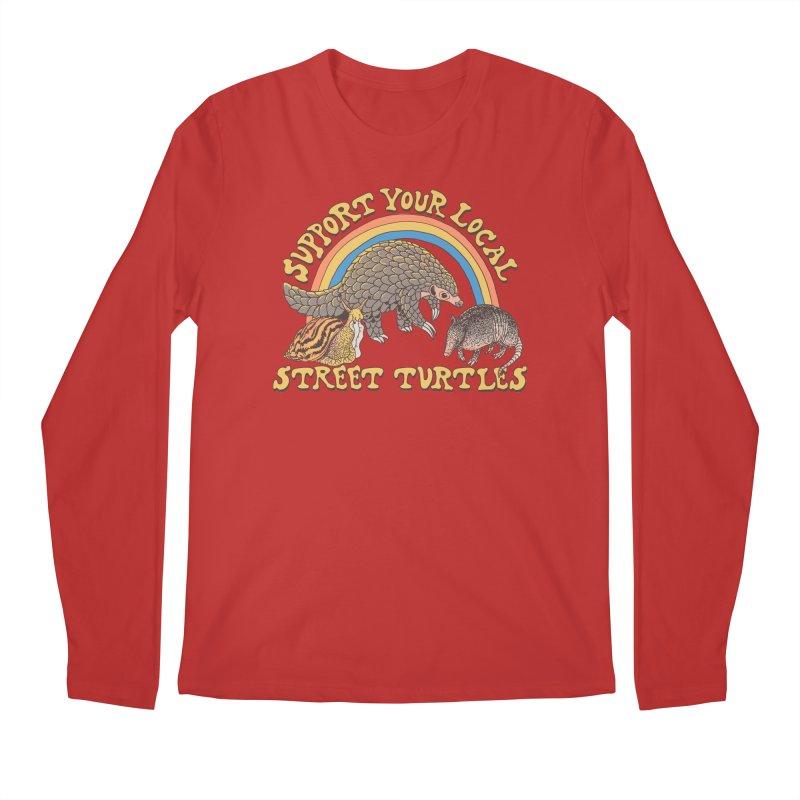 Street Turtles Men's Regular Longsleeve T-Shirt by Hillary White