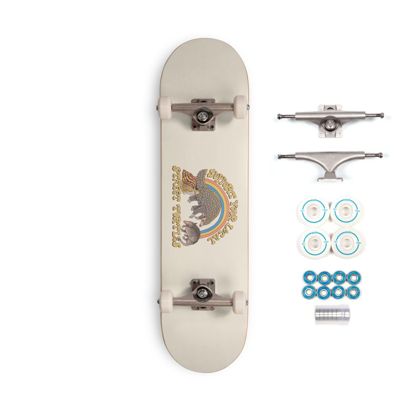 Street Turtles Accessories Complete - Basic Skateboard by Hillary White
