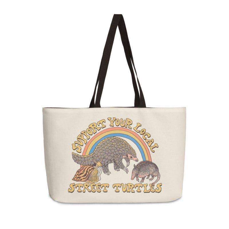 Street Turtles Accessories Weekender Bag Bag by Hillary White