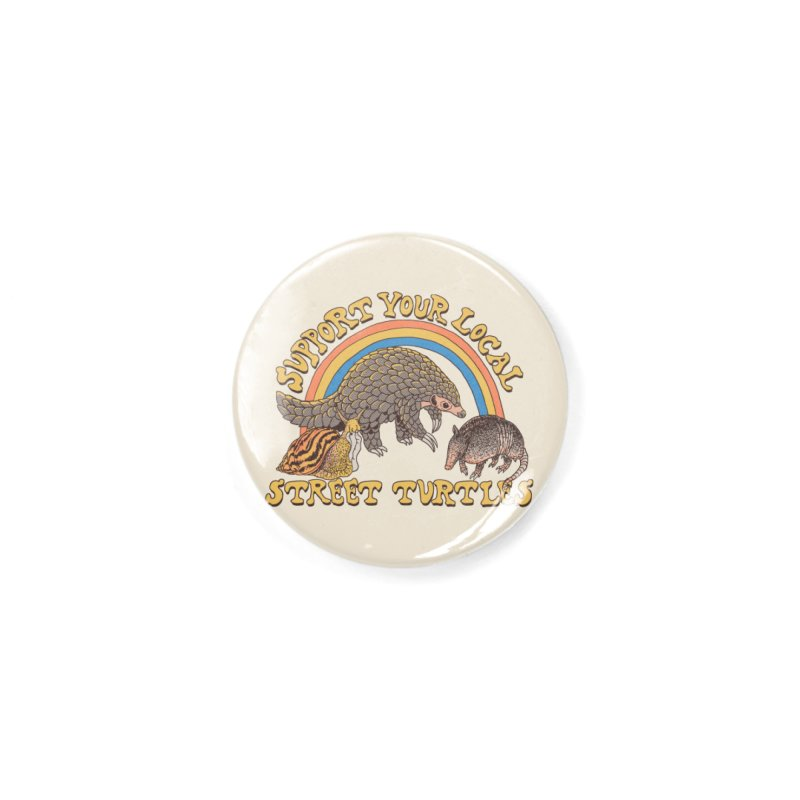 Street Turtles Accessories Button by Hillary White