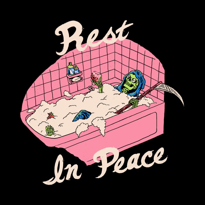 Rest In Peace by Hillary White