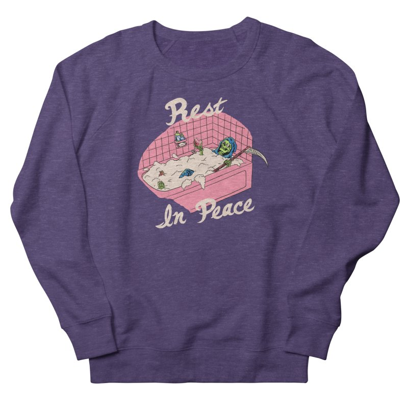 Rest In Peace Women's French Terry Sweatshirt by Hillary White