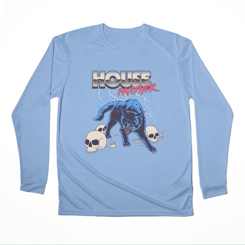 House Panther Men's Performance Longsleeve T-Shirt by Hillary White