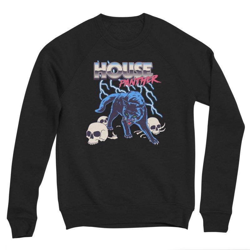 House Panther Men's Sponge Fleece Sweatshirt by Hillary White