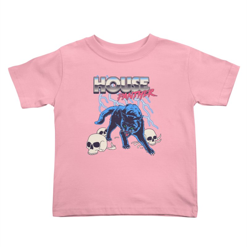 House Panther Kids Toddler T-Shirt by Hillary White