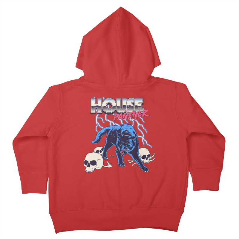 House Panther Kids Toddler Zip-Up Hoody by Hillary White