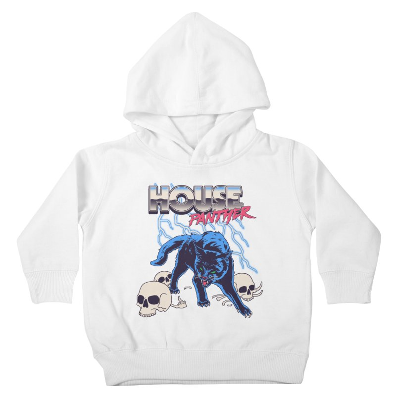 House Panther Kids Toddler Pullover Hoody by Hillary White