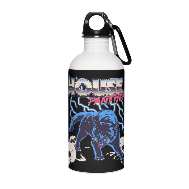 House Panther Accessories Water Bottle by Hillary White