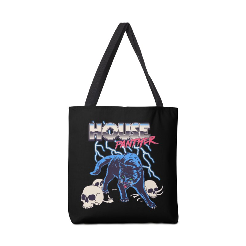 House Panther Accessories Tote Bag Bag by Hillary White