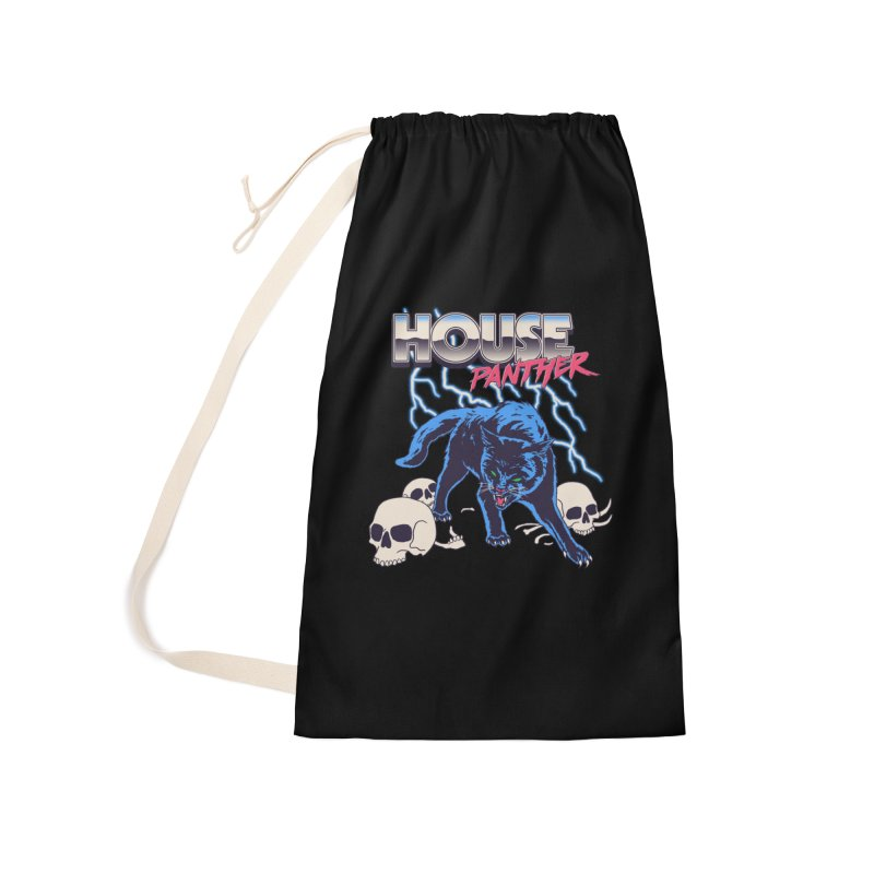 House Panther Accessories Laundry Bag Bag by Hillary White
