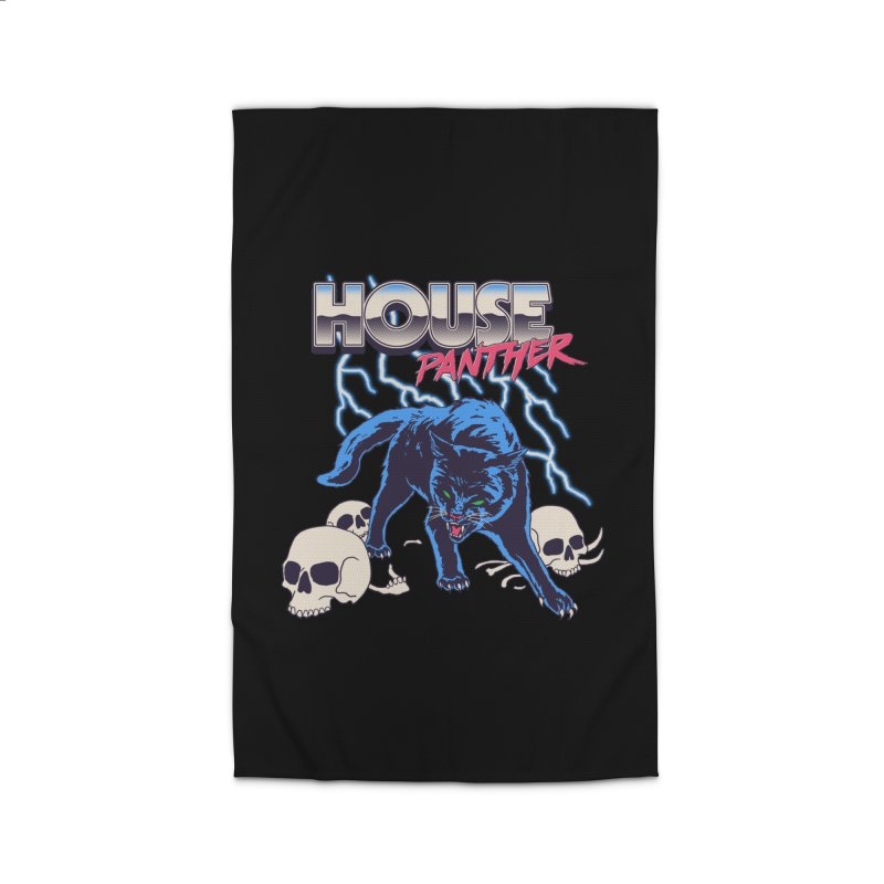 House Panther Home Rug by Hillary White