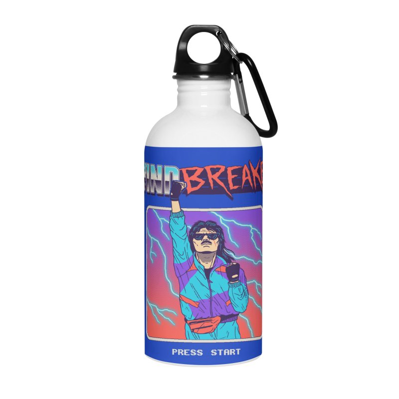 Windbreaker Accessories Water Bottle by Hillary White