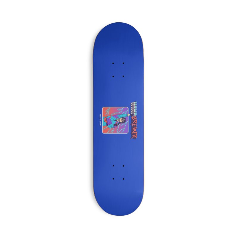 Windbreaker Accessories Deck Only Skateboard by Hillary White
