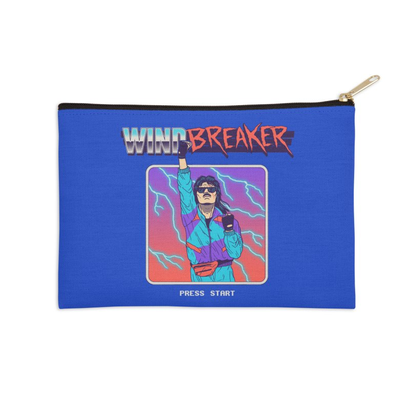 Windbreaker Accessories Zip Pouch by Hillary White