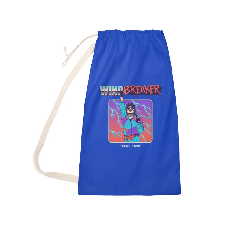 Windbreaker Accessories Laundry Bag Bag by Hillary White