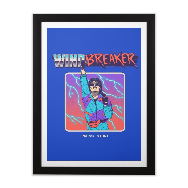Windbreaker Home Framed Fine Art Print by Hillary White
