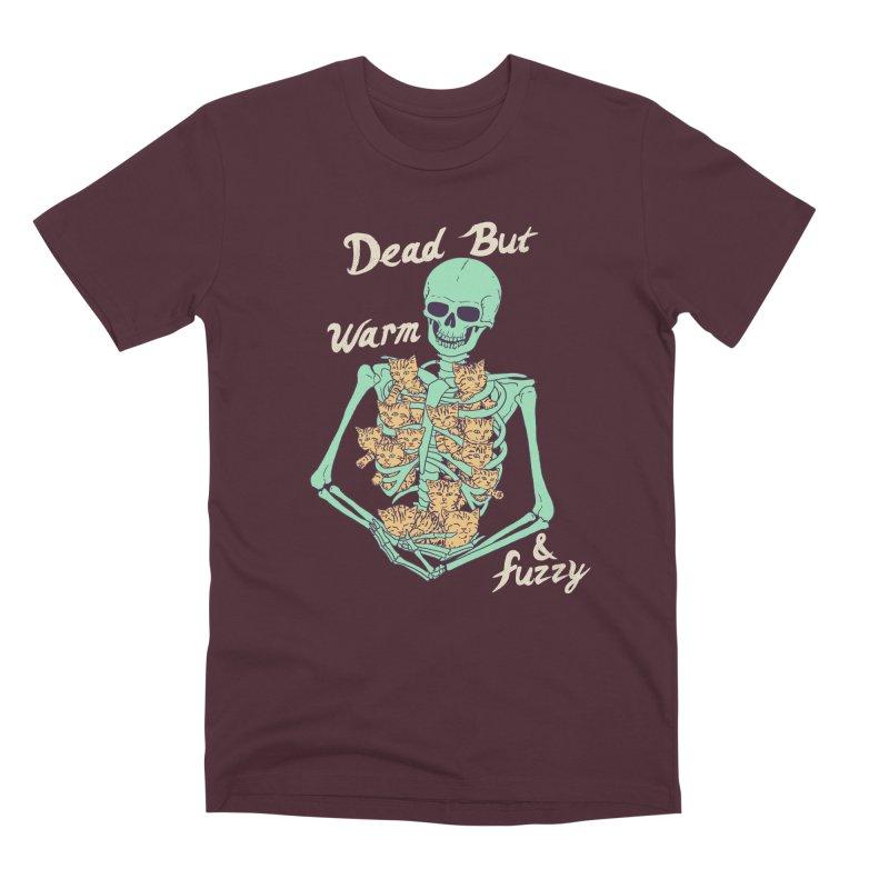 Dead But Warm & Fuzzy Men's Premium T-Shirt by Hillary White