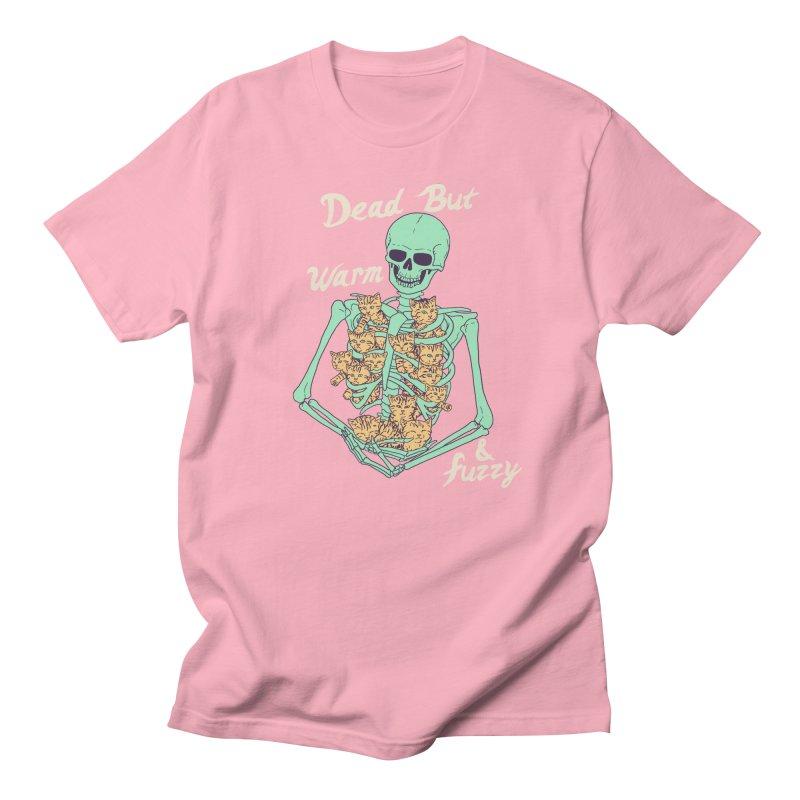 Dead But Warm & Fuzzy Men's Regular T-Shirt by Hillary White