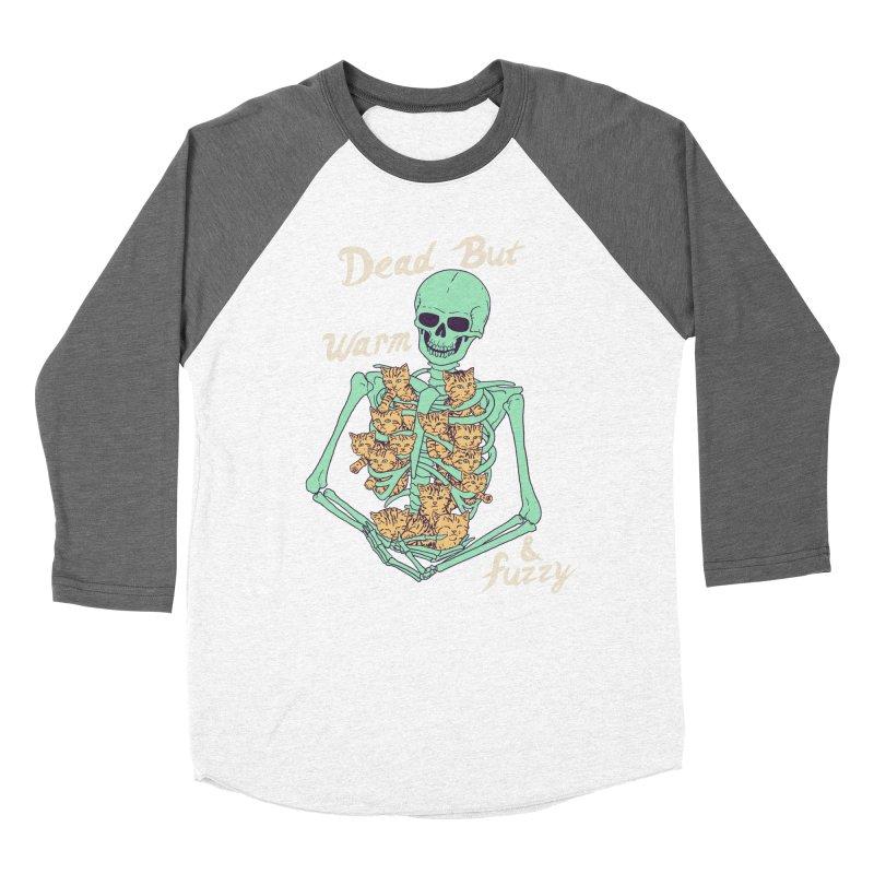 Dead But Warm & Fuzzy Men's Baseball Triblend Longsleeve T-Shirt by Hillary White