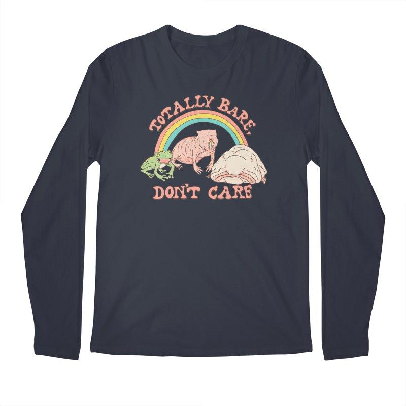 Totally Bare, Don't Care Men's Regular Longsleeve T-Shirt by Hillary White