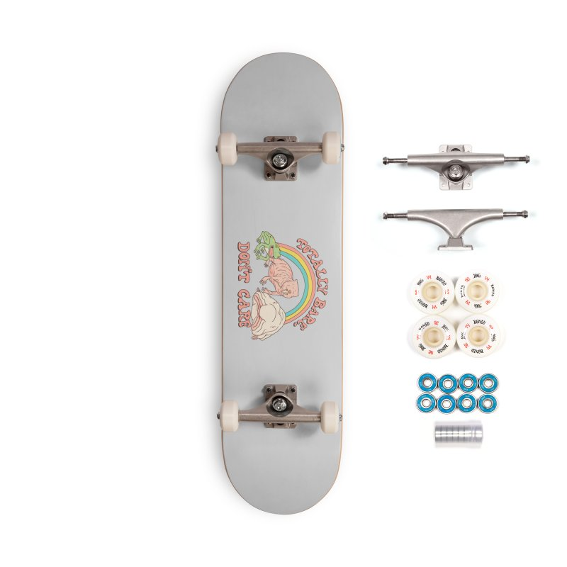 Totally Bare, Don't Care Accessories Complete - Premium Skateboard by Hillary White
