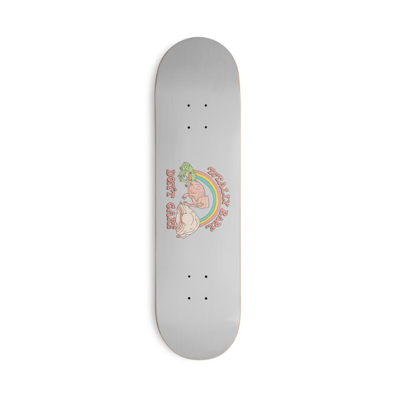 Totally Bare, Don't Care Accessories Deck Only Skateboard by Hillary White