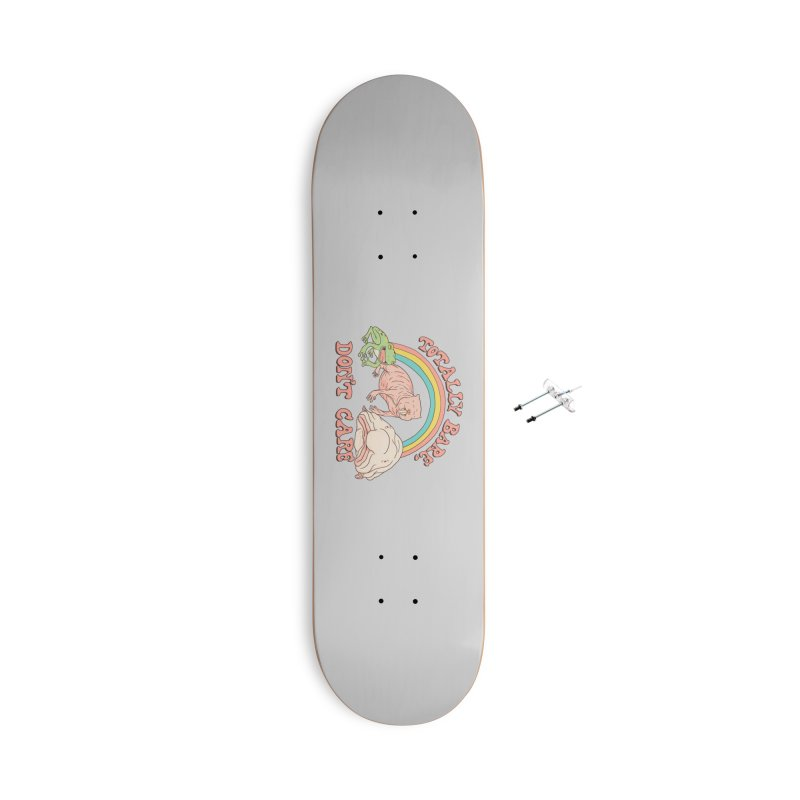 Totally Bare, Don't Care Accessories With Hanging Hardware Skateboard by Hillary White