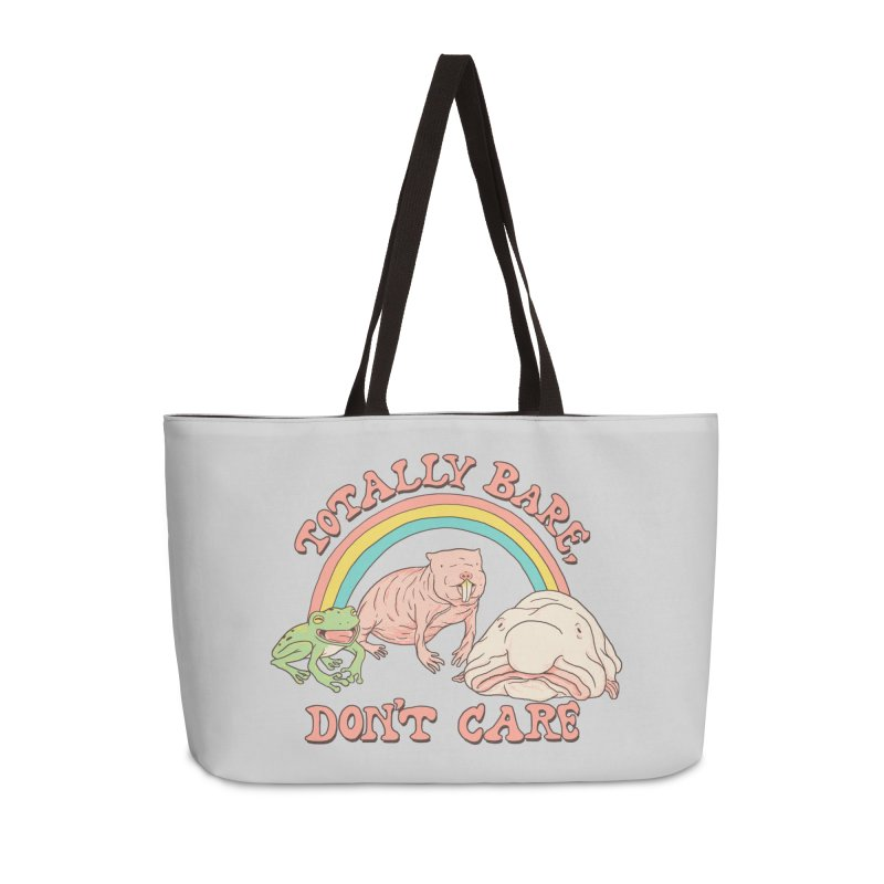 Totally Bare, Don't Care Accessories Weekender Bag Bag by Hillary White