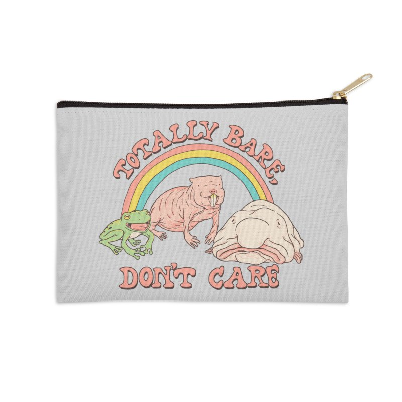 Totally Bare, Don't Care Accessories Zip Pouch by Hillary White