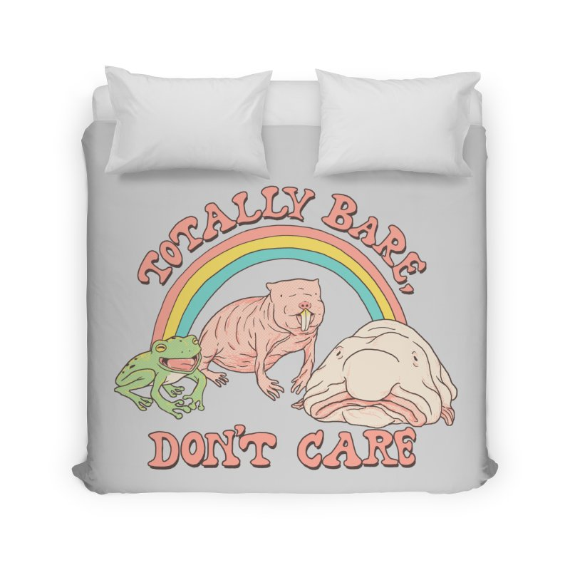 Totally Bare, Don't Care Home Duvet by Hillary White