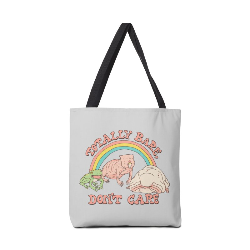 Totally Bare, Don't Care Accessories Tote Bag Bag by Hillary White
