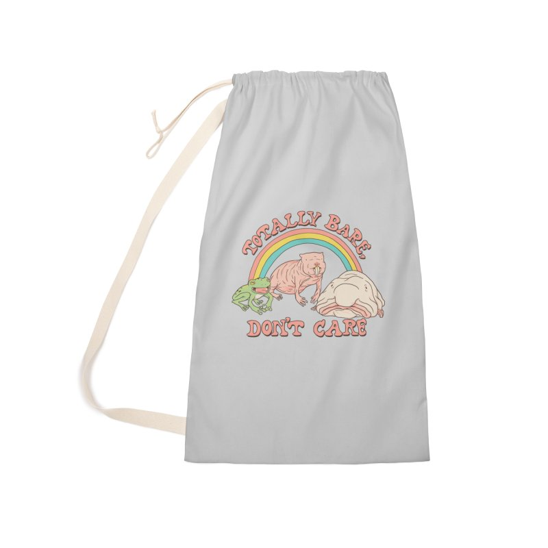 Totally Bare, Don't Care Accessories Laundry Bag Bag by Hillary White