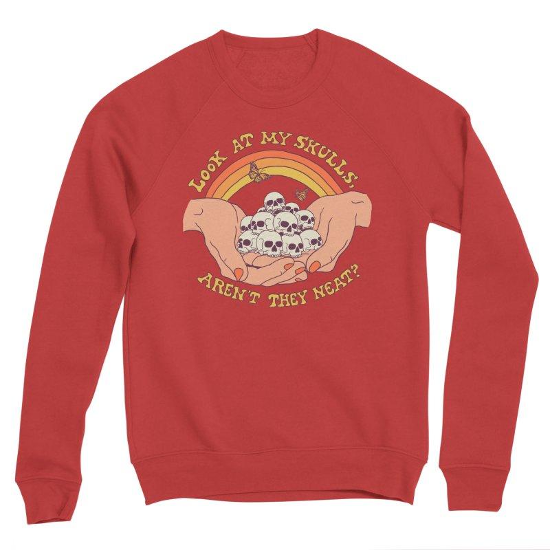 Look At My Skulls Women's Sponge Fleece Sweatshirt by Hillary White