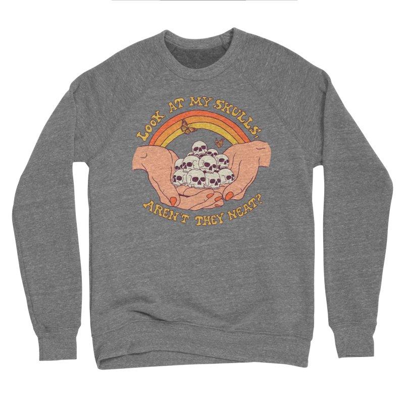 Look At My Skulls Men's Sponge Fleece Sweatshirt by Hillary White