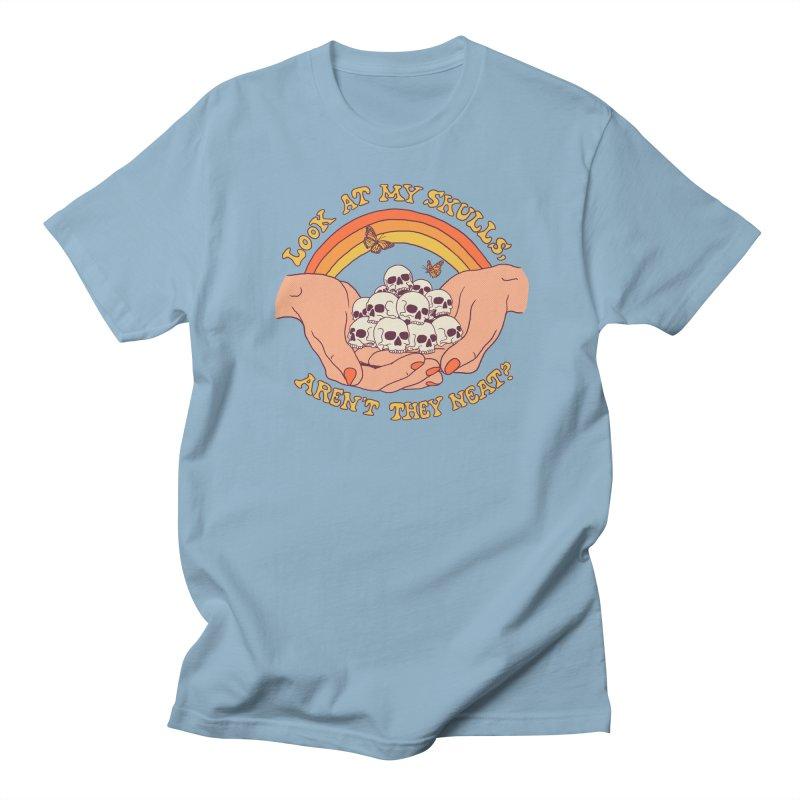 Look At My Skulls Women's Regular Unisex T-Shirt by Hillary White