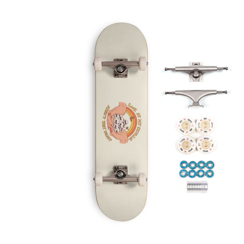 Look At My Skulls Accessories Complete - Premium Skateboard by Hillary White