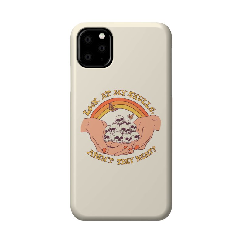 Look At My Skulls Accessories Phone Case by Hillary White