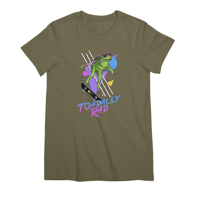 Toadally Rad Women's Premium T-Shirt by Hillary White