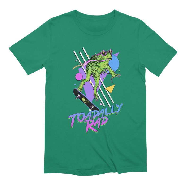 Toadally Rad Men's Extra Soft T-Shirt by Hillary White