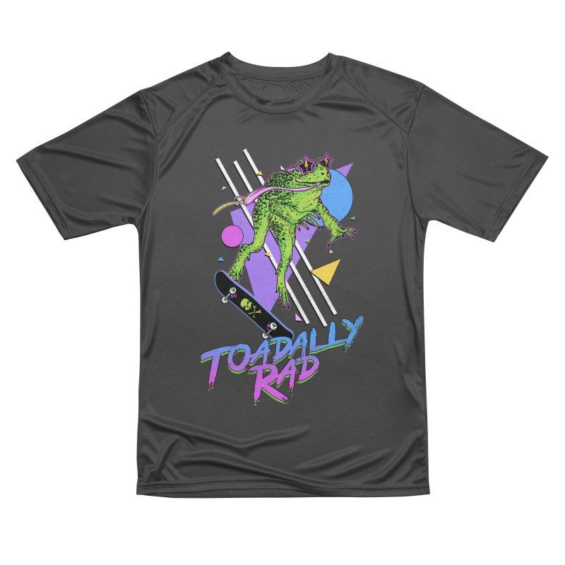 Toadally Rad Women's Performance Unisex T-Shirt by Hillary White