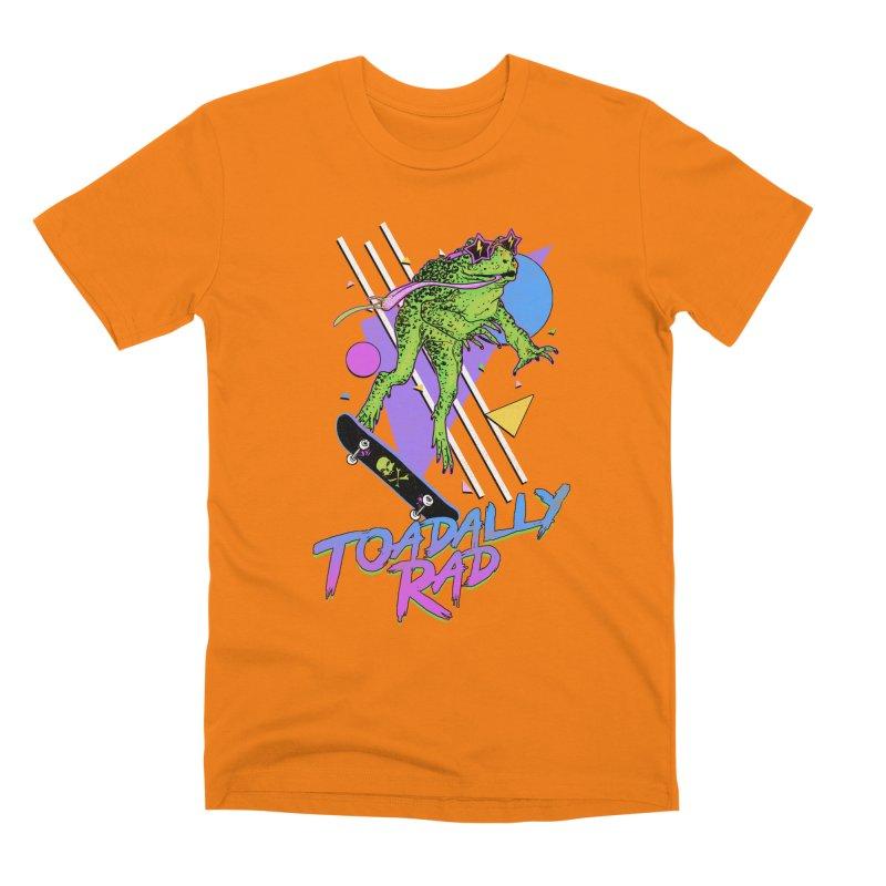 Toadally Rad Men's Premium T-Shirt by Hillary White