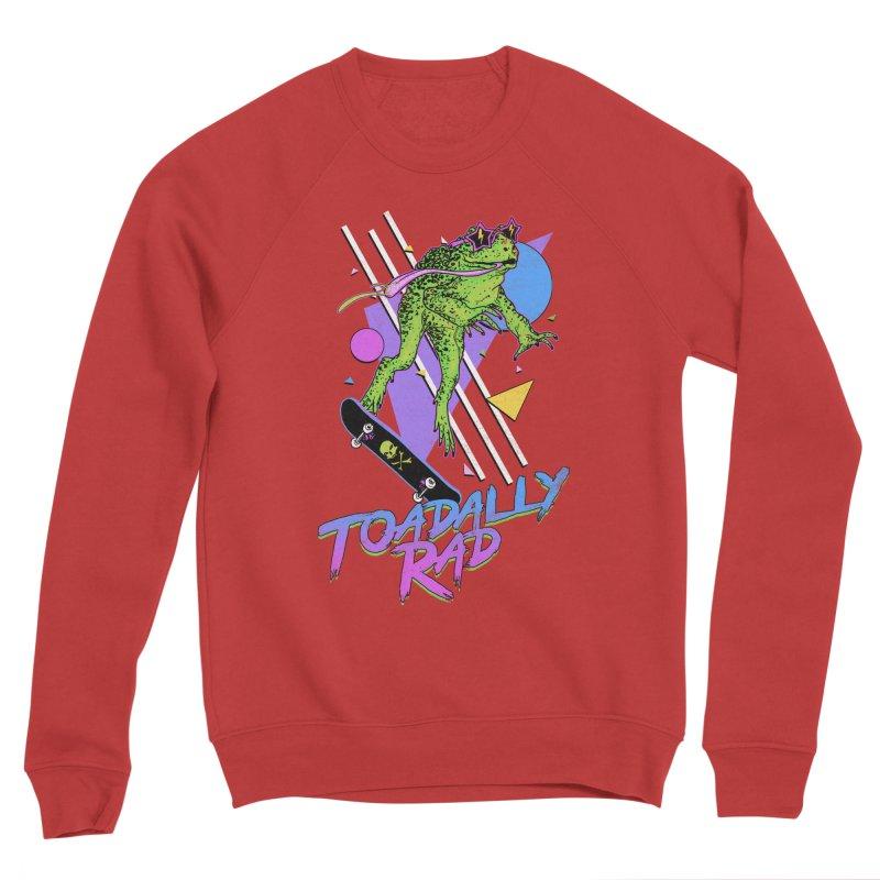 Toadally Rad Women's Sponge Fleece Sweatshirt by Hillary White