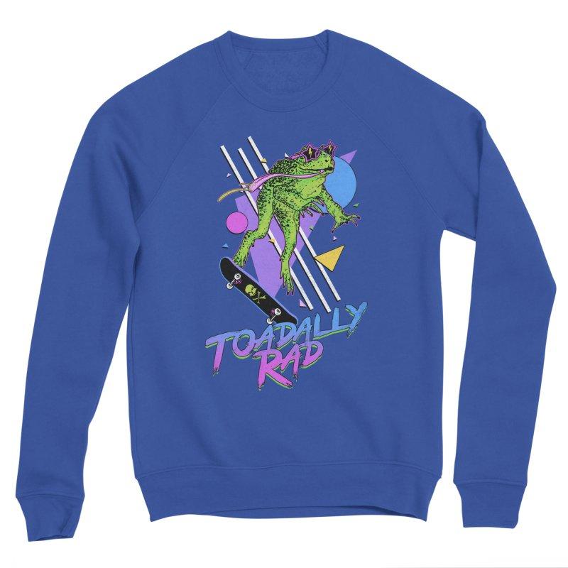 Toadally Rad Men's Sponge Fleece Sweatshirt by Hillary White