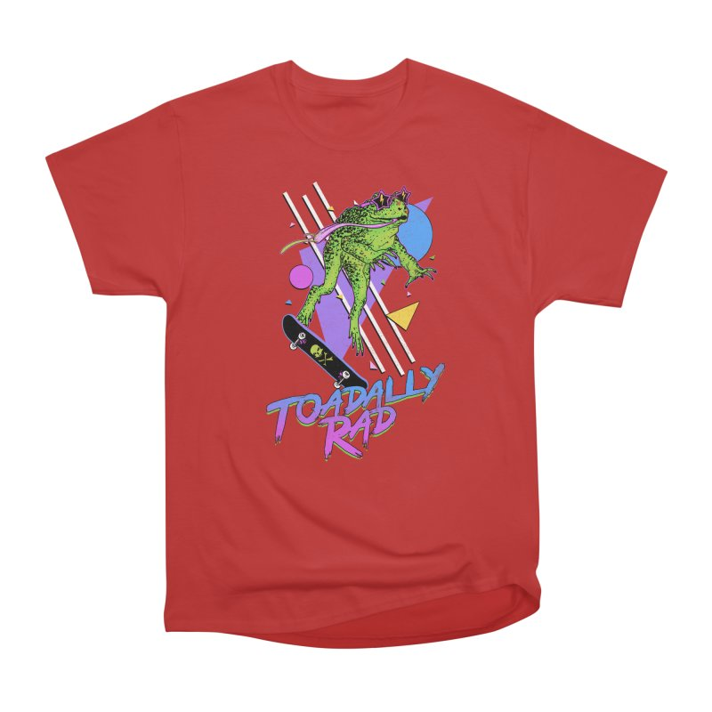 Toadally Rad Men's Heavyweight T-Shirt by Hillary White