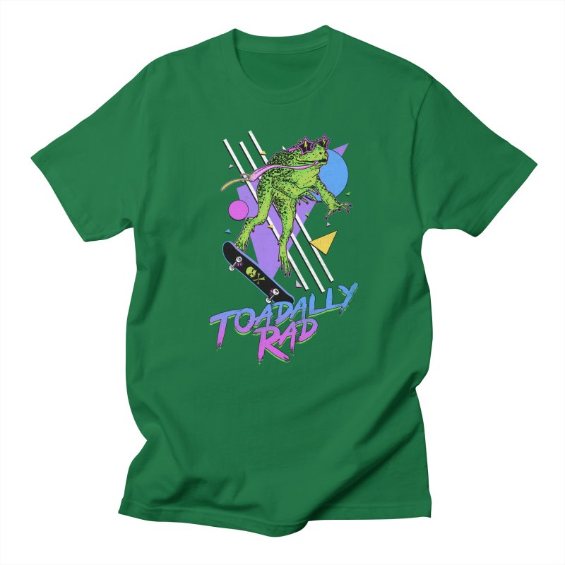 Toadally Rad Women's Regular Unisex T-Shirt by Hillary White