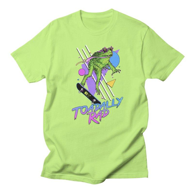 Toadally Rad Men's Regular T-Shirt by Hillary White